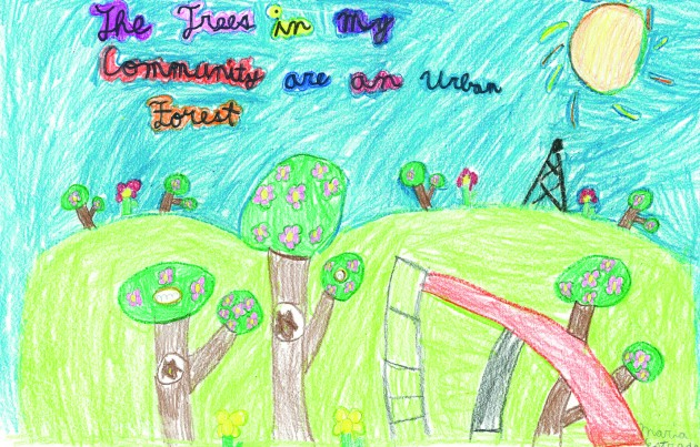 4th grade winner - Maria Estrada
