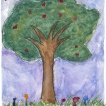 2012 Arbor Week 4th grade poster contest winner